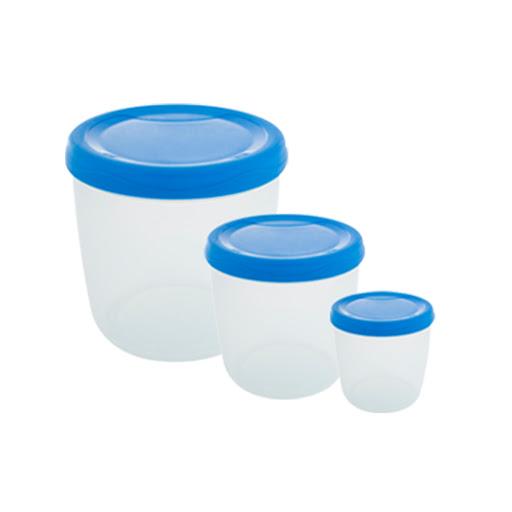 envase inoxplas set de 3und