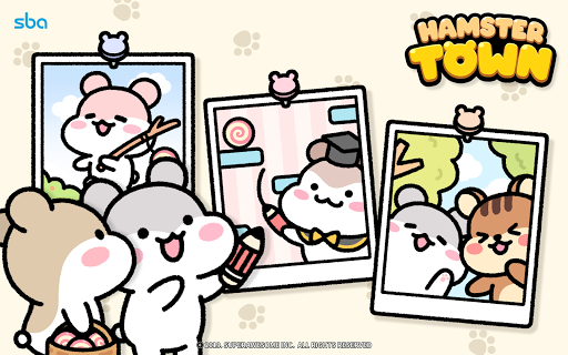Hamster Town, the cutest drawing puzzle game ever screenshots 22