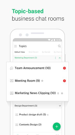 JANDI - Collaboration at Work android2mod screenshots 2