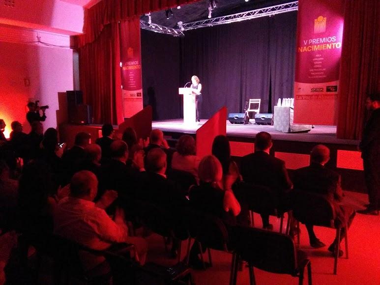 Antonia Sánchez Villanueva, subdirectora de LA VOZ, ha abierto la gala.
