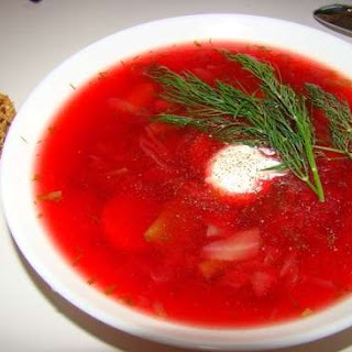 Weight Watchers Russian Borscht