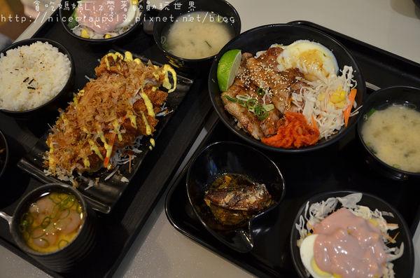 『米谷手作料理食堂』~看過來!看過來!200元有找又可以吃的很飽的日式套餐在這裡。