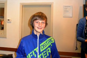 Photo: 25ste Oudejaars sneldamtoernooi van IJmuiden. Eerste prijs promotiegroep: Marco de Leeuw