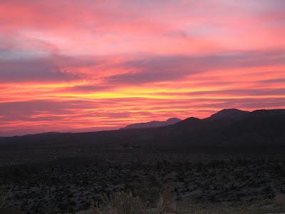 Anza Borrego - Sunrise from Egg Mountain