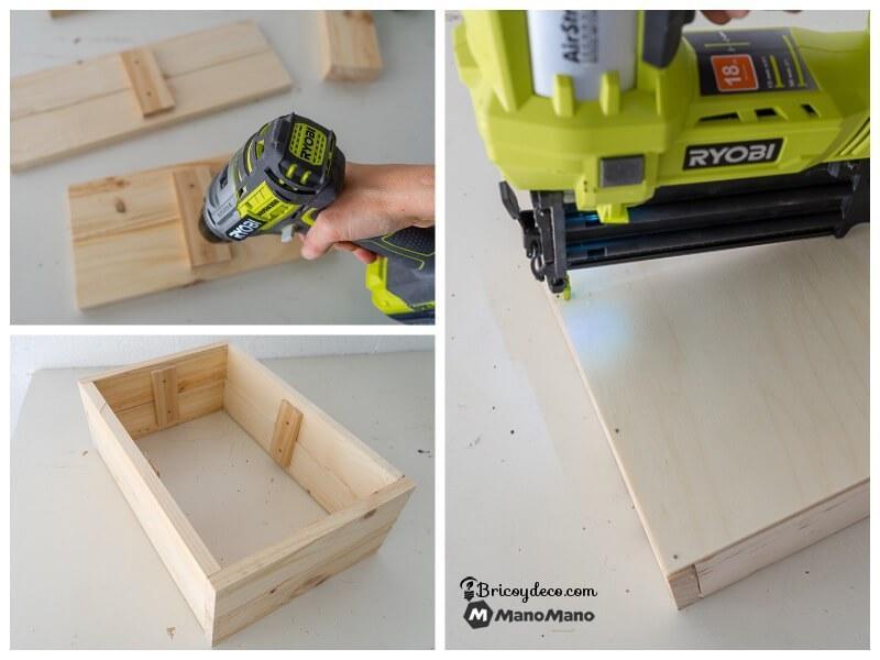 hacer una caja de madera a medida para organizar tu hogar