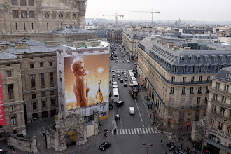 Photo: View from the roof of Galeries Lafayette