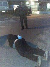 Photo: Tyv anholdt på fersk gerning d. 250608 af Kasper Povlsen