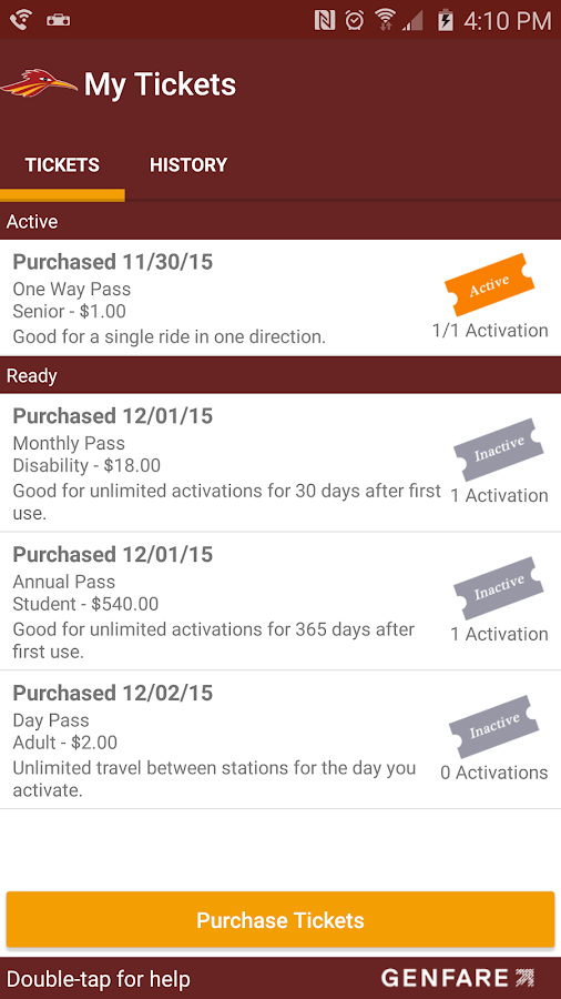 Rio Metro Ticketing- screenshot