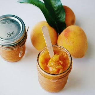 3 Ingredient Peach Butter.