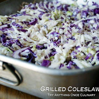 Grilled Coleslaw and Dressing