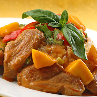 Mango Curry Duck.