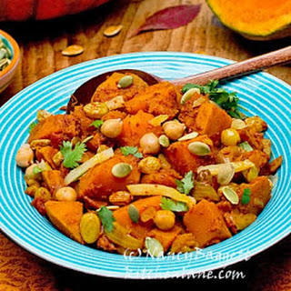 Moroccan-Style Spiced Winter Squash Stew