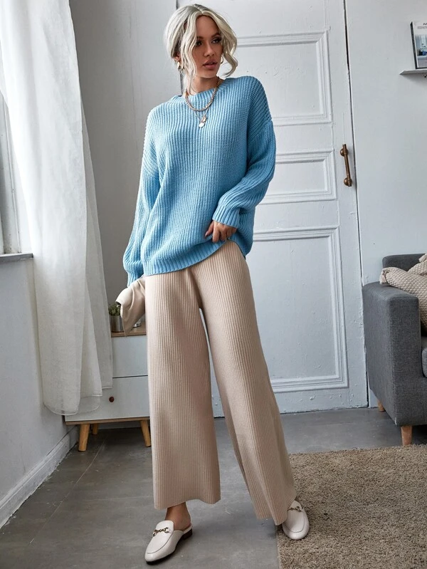 athflow clothing cropped knit pants