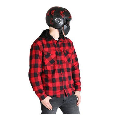 Kevlar skjorta Manitou röd/svart Sweep