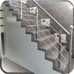 Design zábradlí z nerezové oceli - náhled