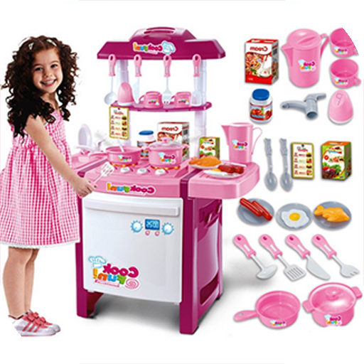 Kitchen Set Cooking Toys Fans
