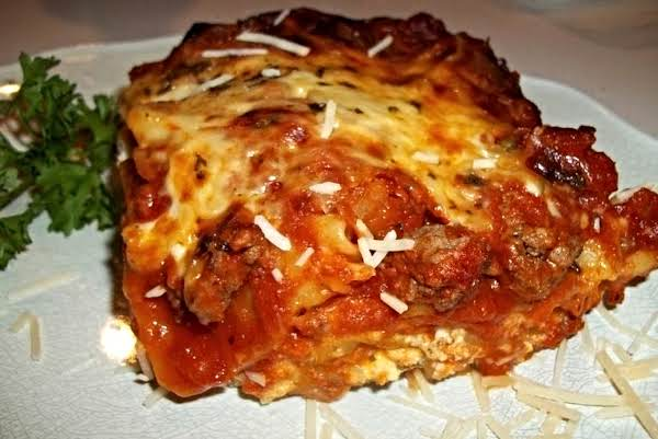 ~ Cheesy  Lasagna ~ Cassies Recipe