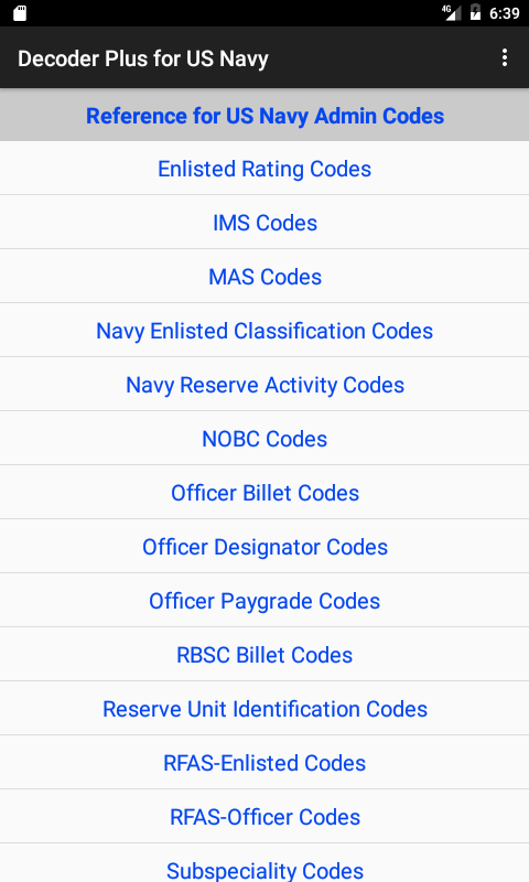 Decoder Plus for US Navy- screenshot