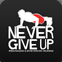 Never Give Up Training icon