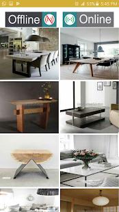 Modern Table Design - náhled
