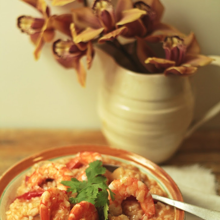 Monkfish and Shrimp Rice