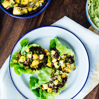Chipotle Black Bean Lettuce Wraps