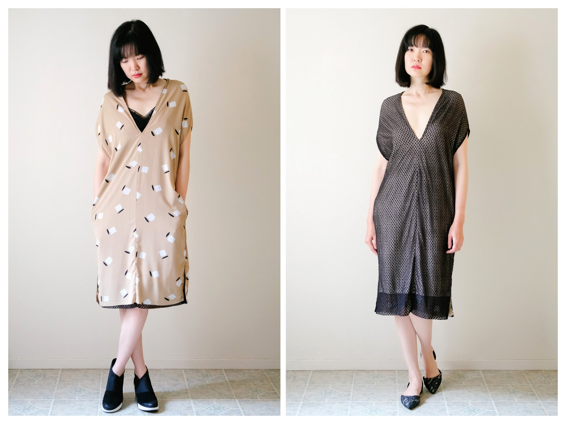 Reversible Dress with Pockets - DIY Fashion Garments | fafafoom.com