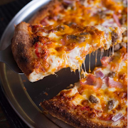 Large Bacon Cheeseburger Pizza (6 Toppings)
