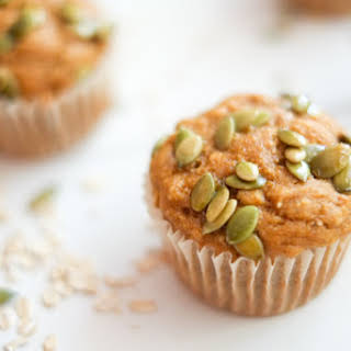 Maple-Oat Pumpkin Muffins.