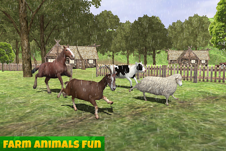 Farm Animals Family Survival- screenshot thumbnail
