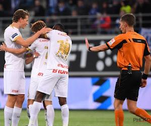 Un joueur de Genk quitte l'entraînement sur blessure à quelques jours du match face à Bruges