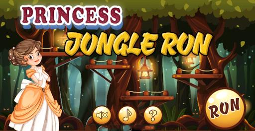 Princess Jungle Run