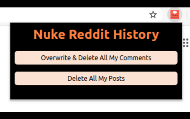 Nuke Reddit History