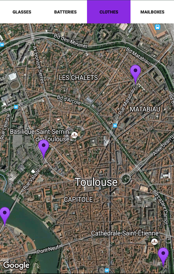 Toulouse VPVB- screenshot