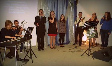 Photo: vendégekkel kibővült dicsőítő csapatunk 2011 szilveszterén