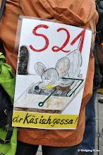 Photo: Im Gegenteil Herr K., dr Käs isch noch lange nicht gessa !