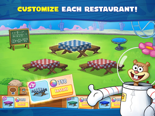 SpongeBob: Krusty Cook-Off android2mod screenshots 10