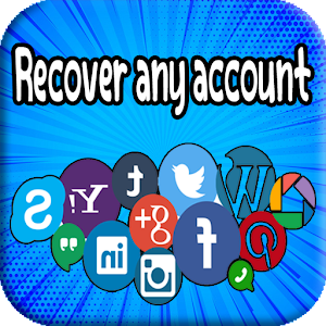 recover account - recover my account for PC