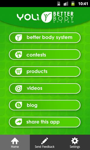 Yoli Better Body System 3.0.11 Screenshots 1