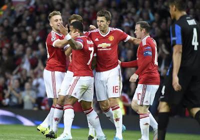 Plusieurs absents à Manchester United