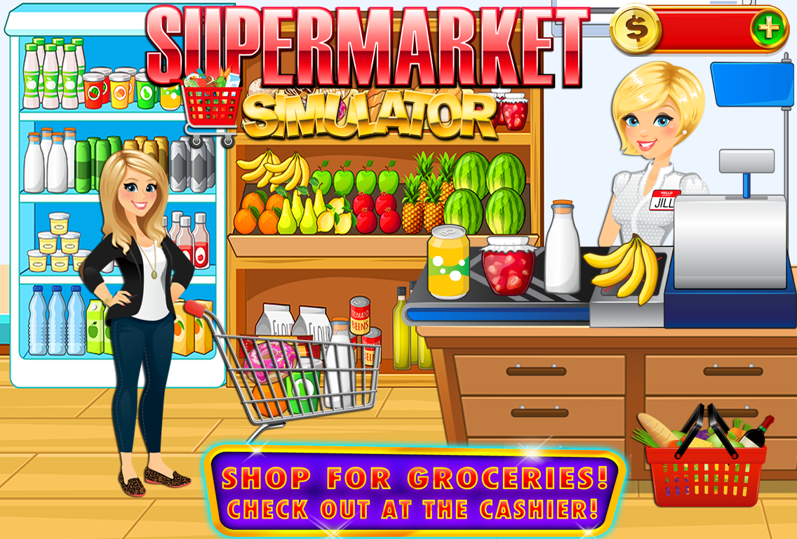 Supermarket Grocery Store Kids- screenshot