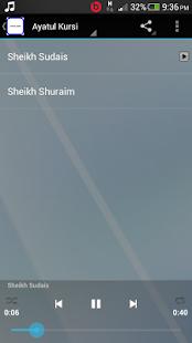Ayatul Kursi and Fatiha MP3 - náhled