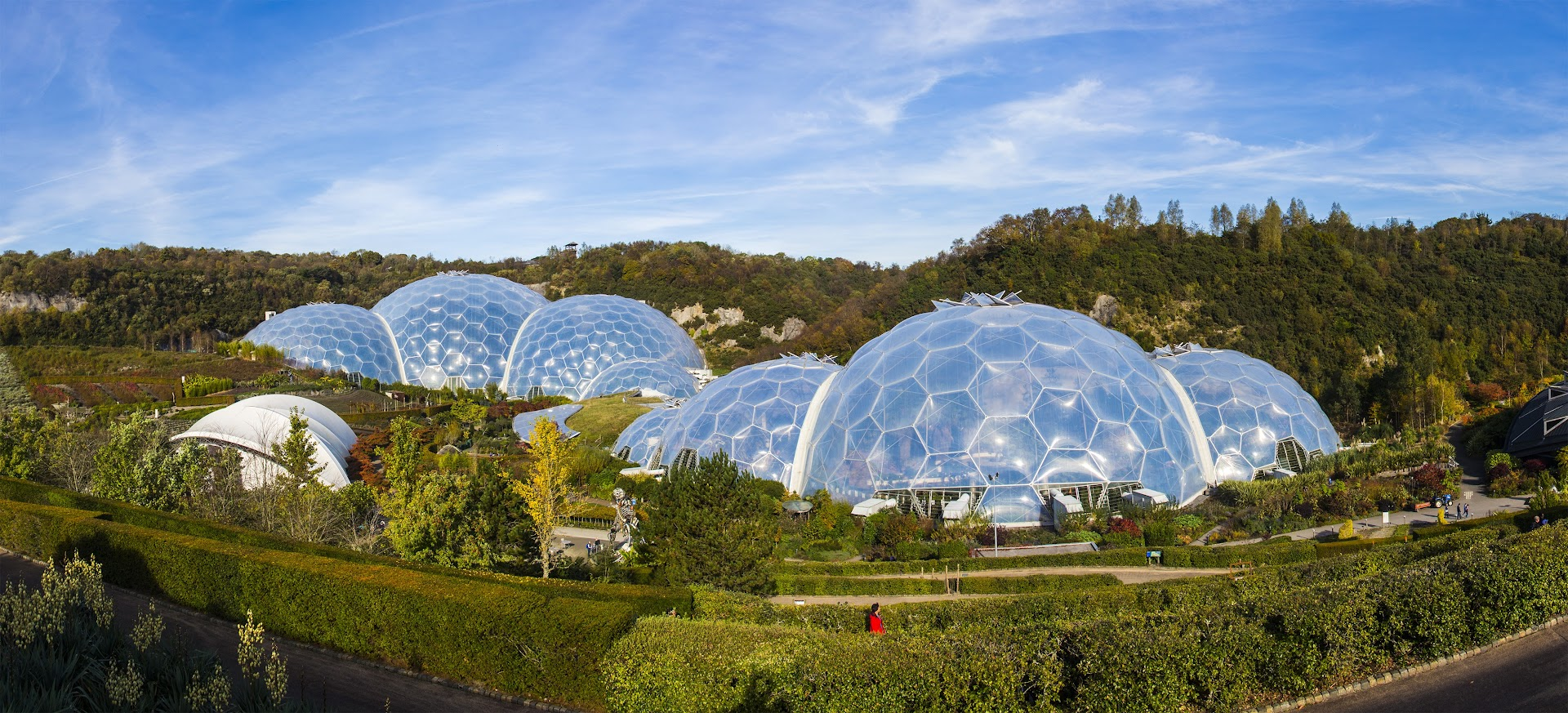 Eden Project, St Austell, Cornwall. England.