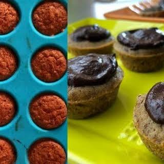 Mini Coffee Chocolate Cupcakes.