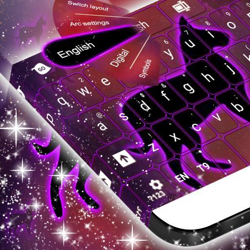 Neon Dog Sign Keyboard 個人化 App LOGO-硬是要APP