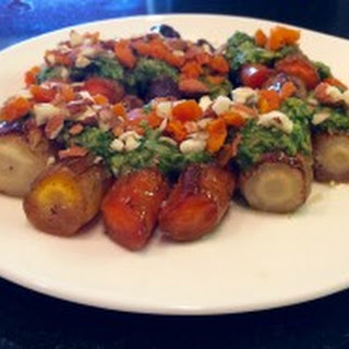 Moroccan Inspired Carrots