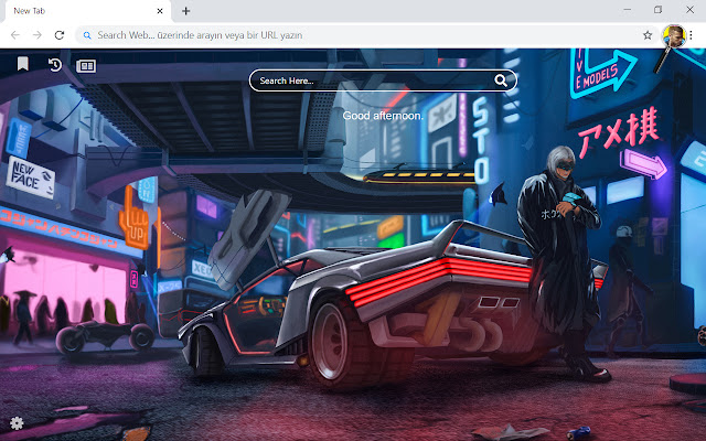 Cyberpunk 2077 HD Wallpapers New Tab