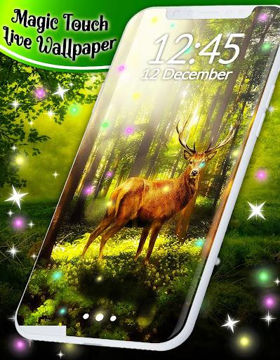 Live Wallpaper Magic Touch 4.5.0 screenshots 5