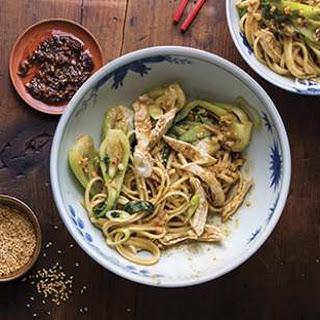 Dan Dan Noodles with Chicken & Baby Bok Choy Recipe