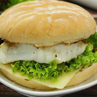 Grilled Fish Burger Recipes.